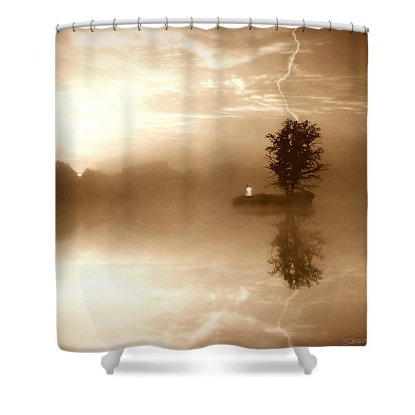 Never Forget Me Shower Curtain