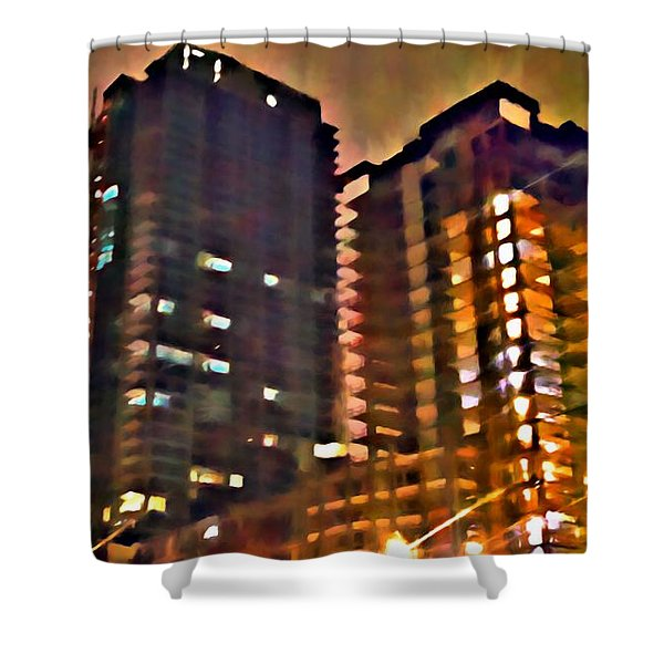 New Construction 2 Shower Curtain