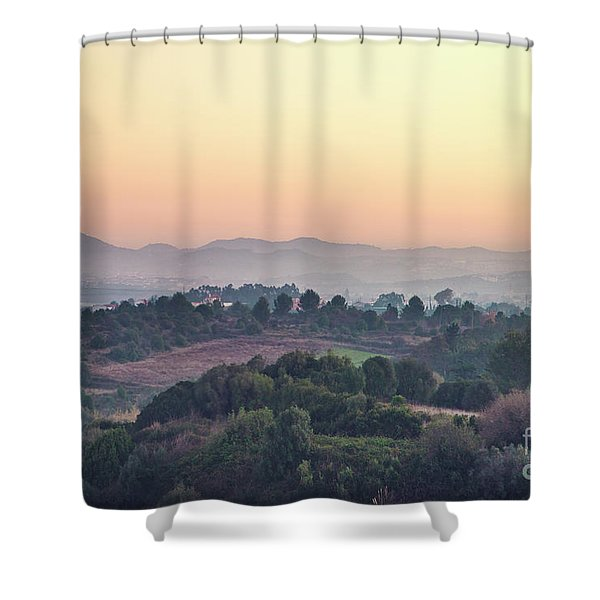 New Day Magic Shower Curtain