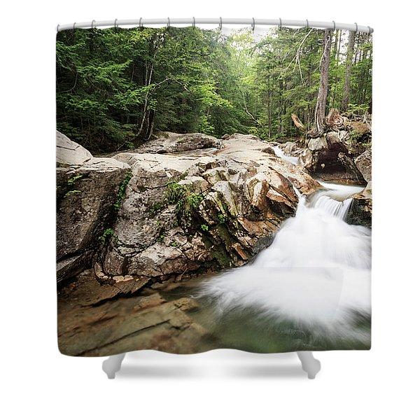 New England Waterfall Shower Curtain