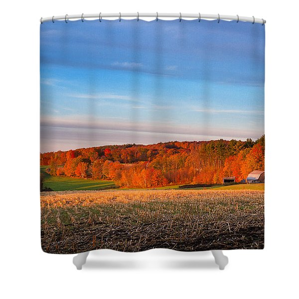 New Hampshire Country Shower Curtain