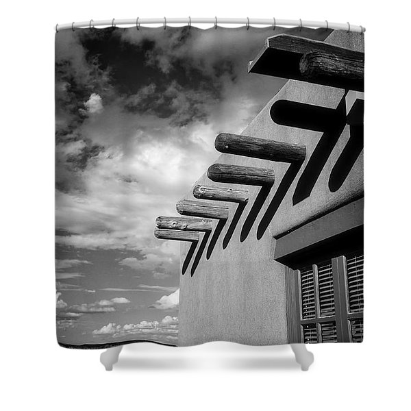 New Mexico Afternoon Shower Curtain