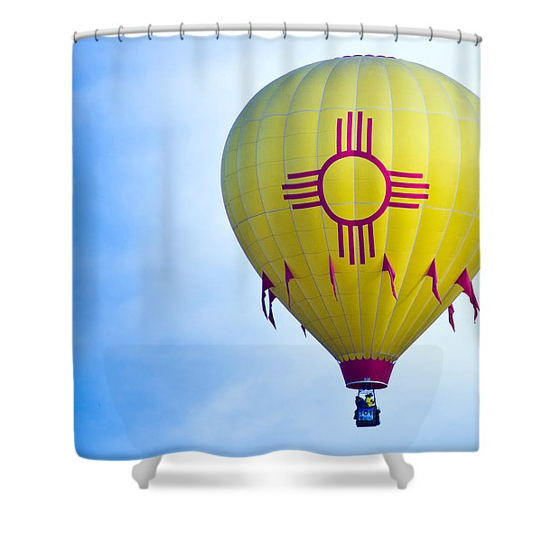 New Mexico Shines Shower Curtain
