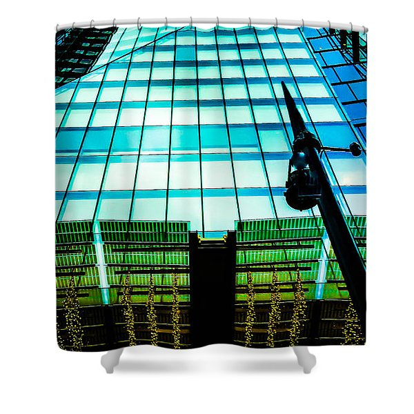 New Monuments Shower Curtain