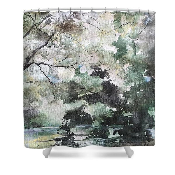 New Morning Shower Curtain