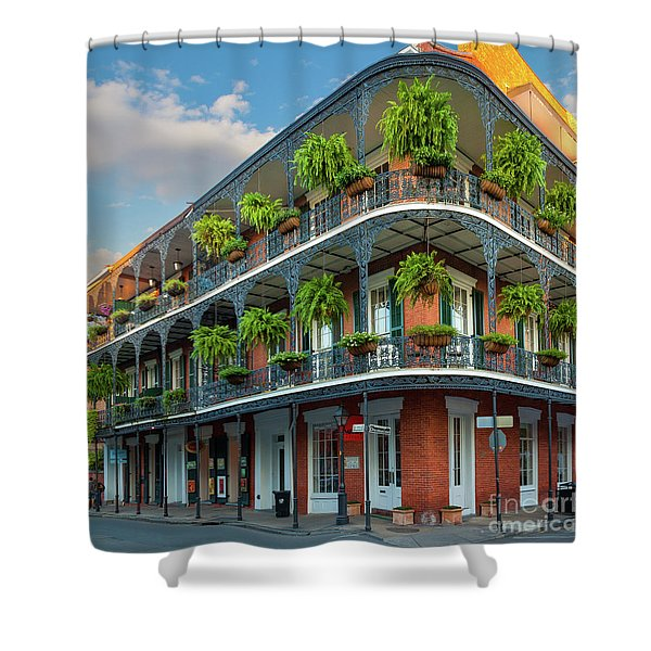 New Orleans House Shower Curtain