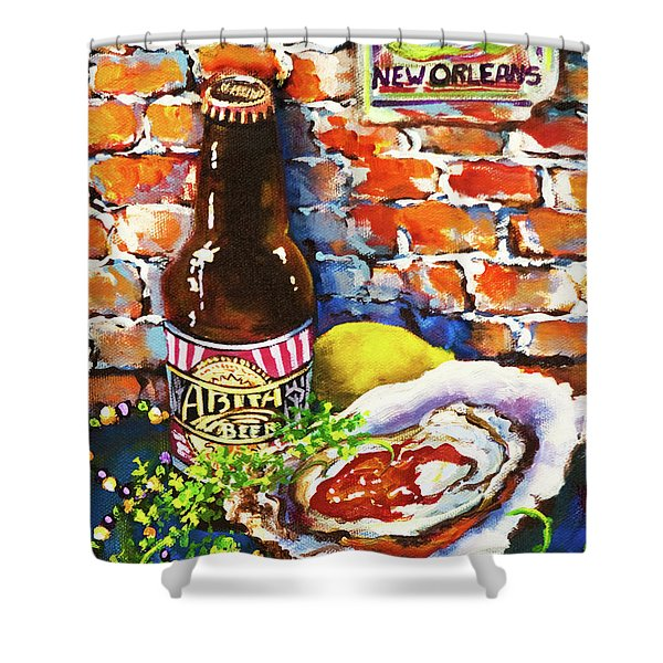 New Orleans Treats Shower Curtain