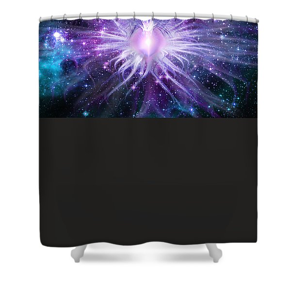 The Keefer Mosaic Shower Curtain