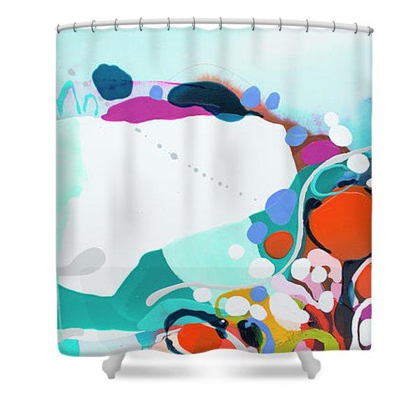 New Ways Shower Curtain