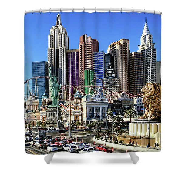 New York , New York Shower Curtain