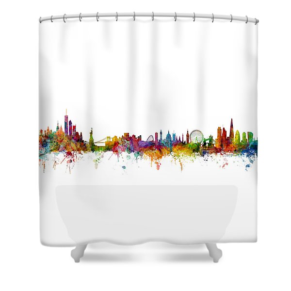 Michael Tompsett Shower Curtains For Sale