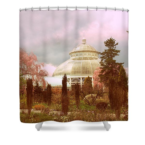 New York Botanical Garden Shower Curtain