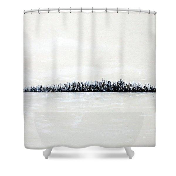 New York City Skyline 48 Shower Curtain