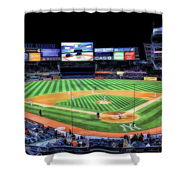 New York City Yankee Stadium Shower Curtain