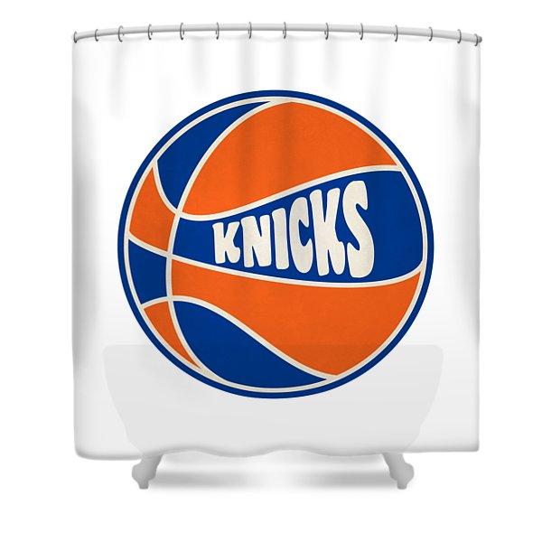 New York Knicks Retro Shirt Shower Curtain