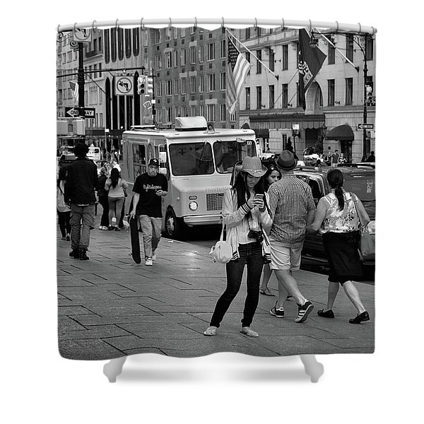 New York, New York 19 Shower Curtain