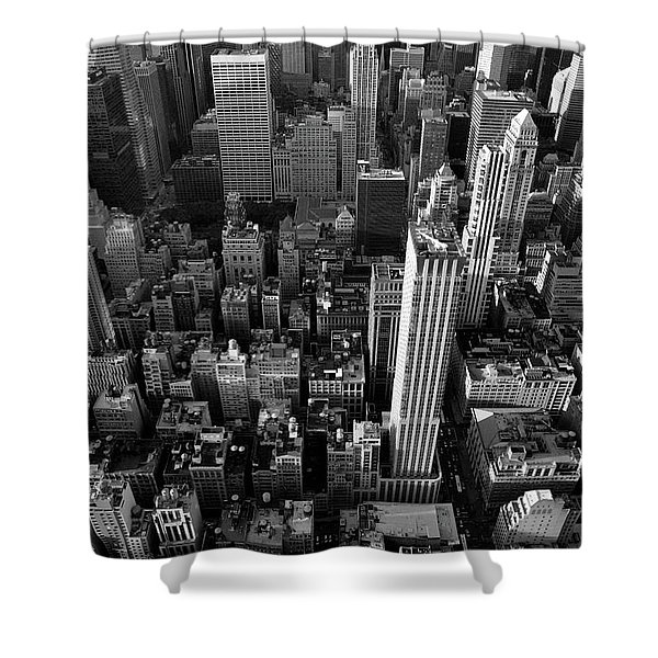 New York, New York 5 Shower Curtain