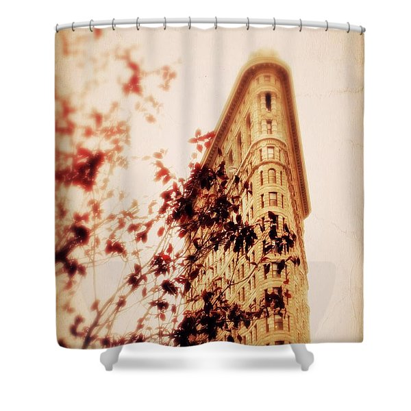 New York Nostalgia Shower Curtain