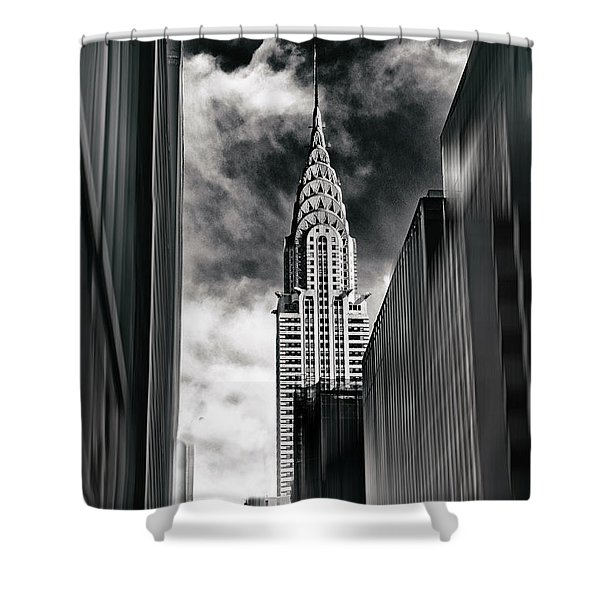 New York State Of Mind Shower Curtain