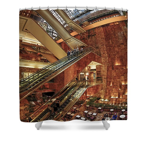Shower Curtain featuring the photograph New York Trump Tower  by Juergen Held