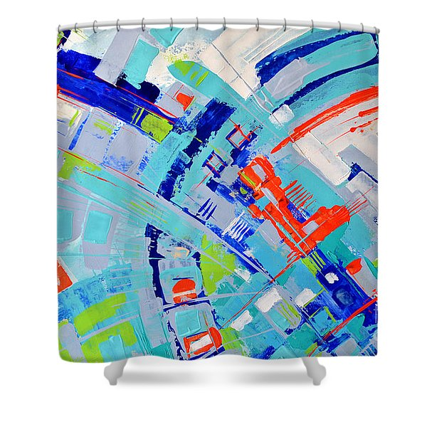 Newyorkers In The Bahamas Shower Curtain