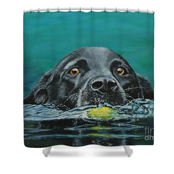 Next Time You Fetch It  Shower Curtain