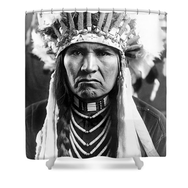 Nez Perce Native American - To License For Professional Use Visit Granger.com Shower Curtain