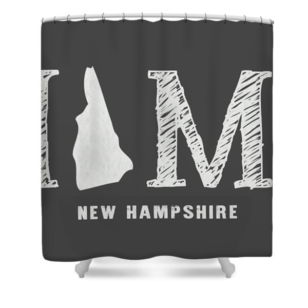 Nh Home Shower Curtain