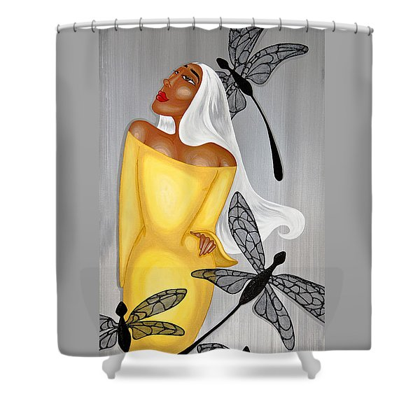 NIA Shower Curtain