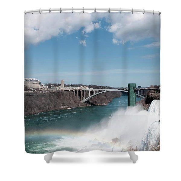 Niagara Falls New York Shower Curtain