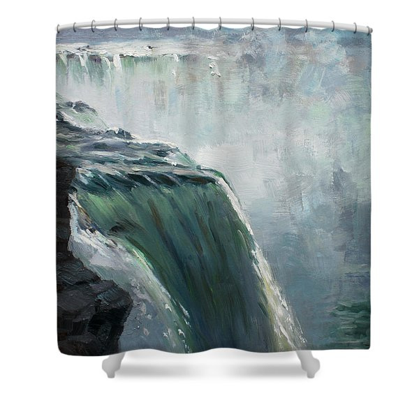 Niagara Falls Ny Shower Curtain