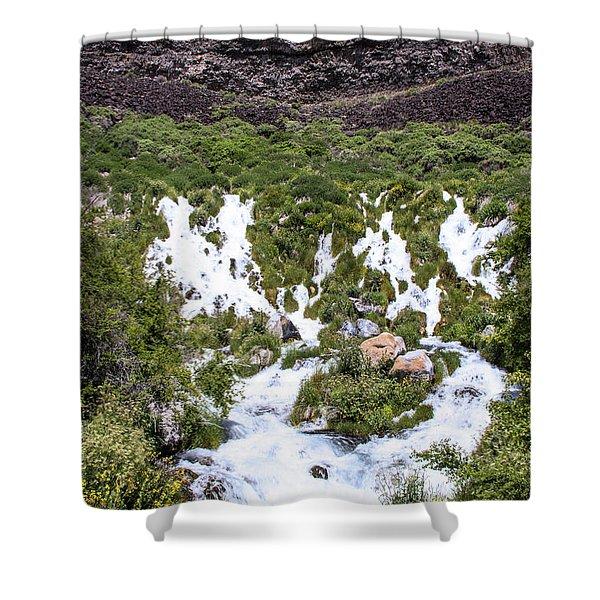 Niagra Springs Idaho Journey Landscape Photography By Kaylyn Franks  Shower Curtain