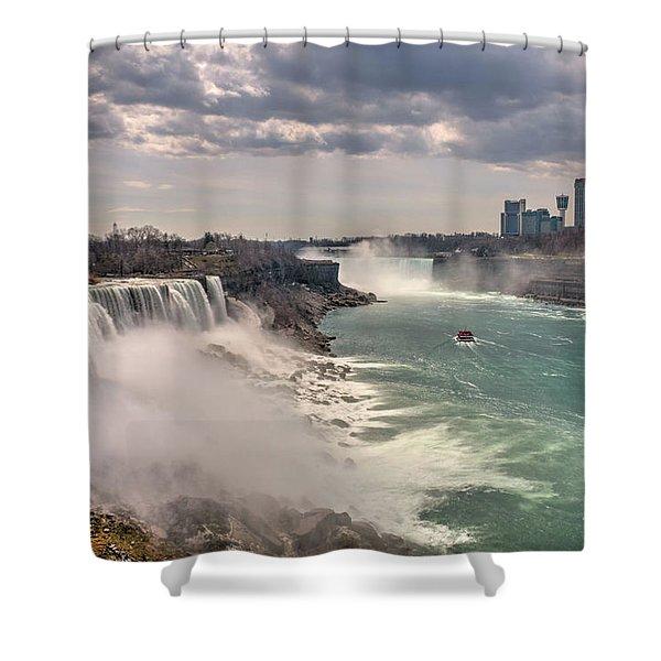 Niagra Waterfalls Shower Curtain