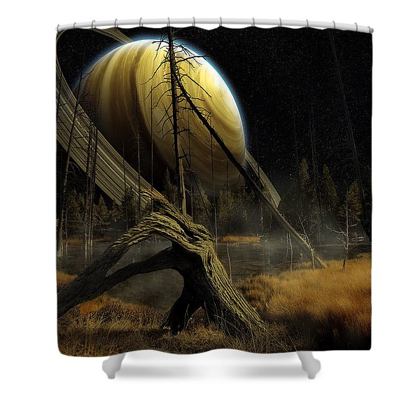 Nibiru Shower Curtain