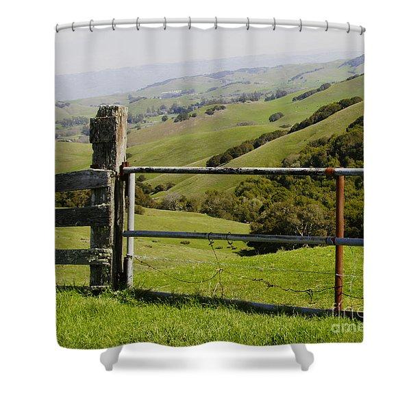 Nicasio Overlook Shower Curtain