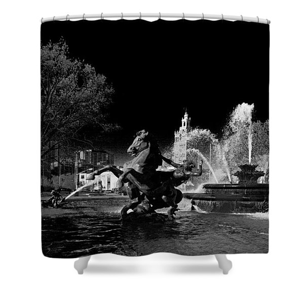 Nichols Fountain Shower Curtain