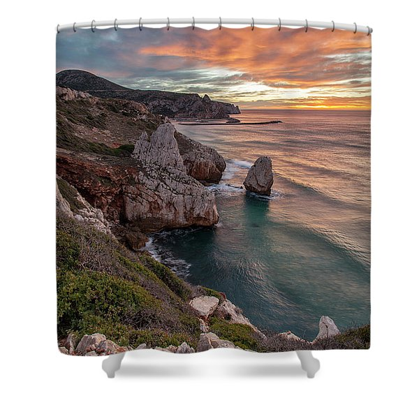 Nido Dell'acquila  Shower Curtain