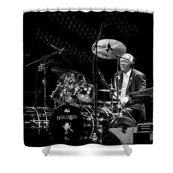 Nigel Olsson Shower Curtain