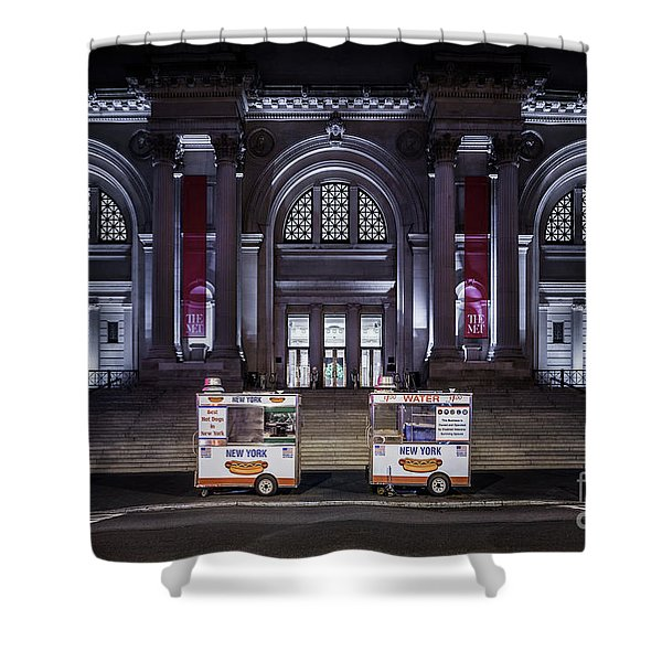 Night At A Museum Shower Curtain