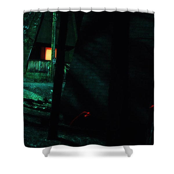 Traveling Aura Shower Curtain