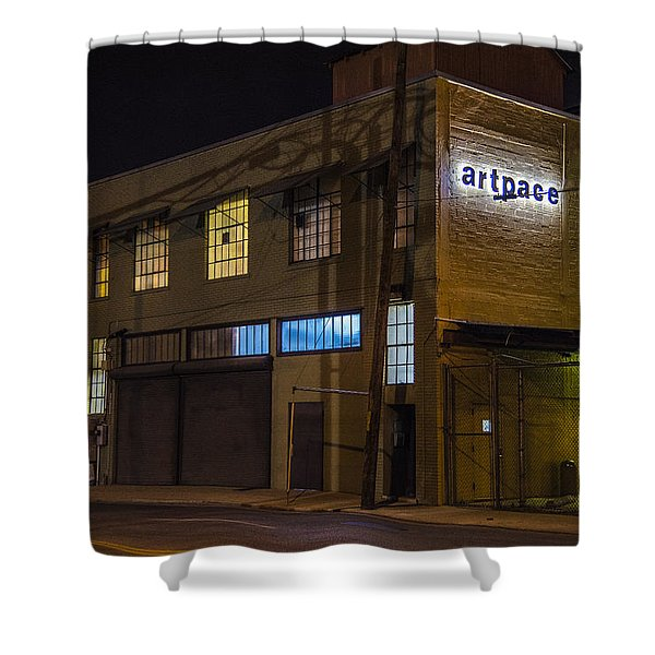 Shower Curtain featuring the photograph Night Lights by Break The Silhouette