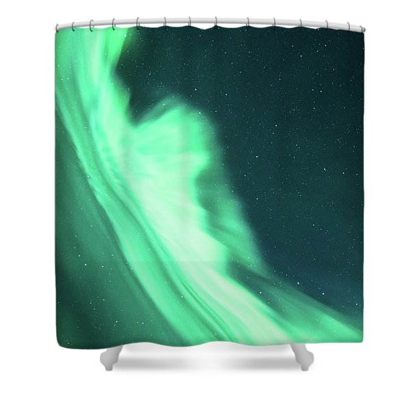 Night Lines Shower Curtain