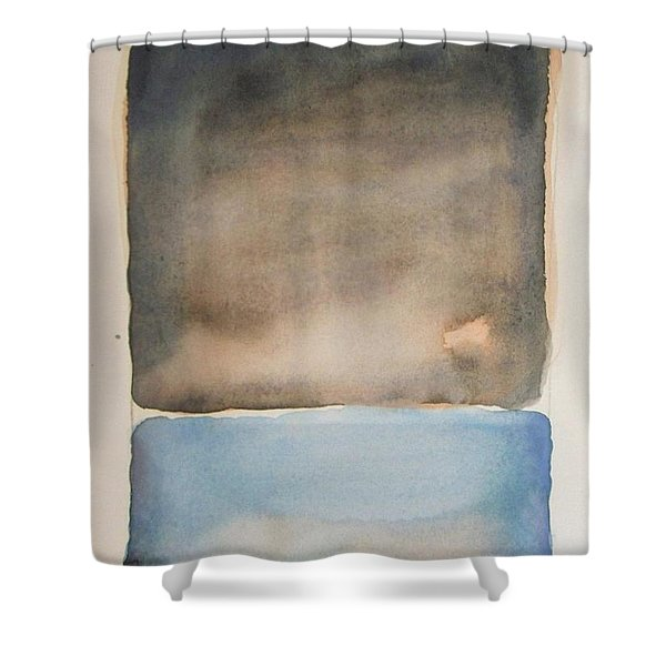 Night On The Lake Shower Curtain
