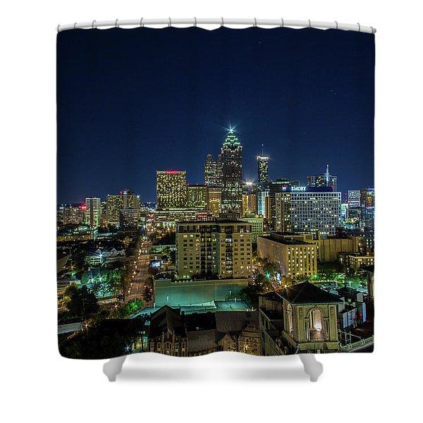 Night View 2 Shower Curtain