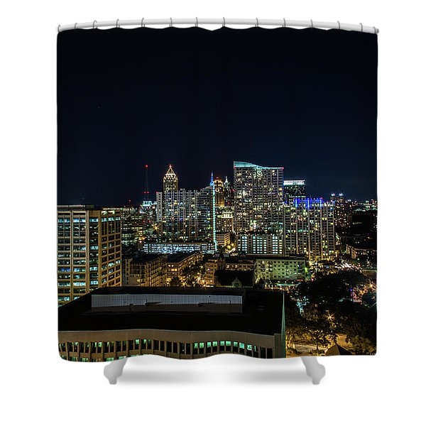 Night View  Shower Curtain