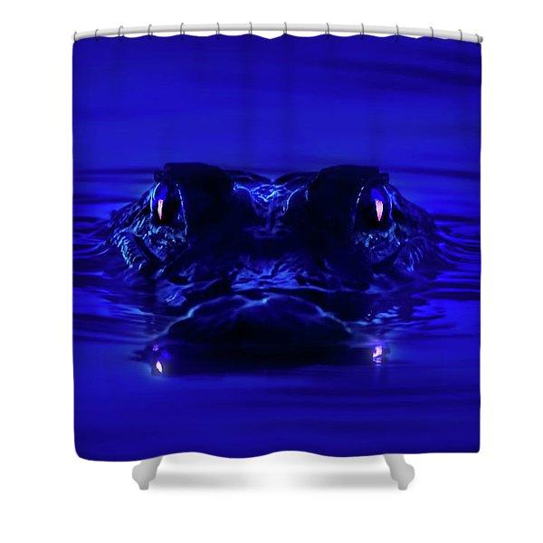 Night Watcher Shower Curtain