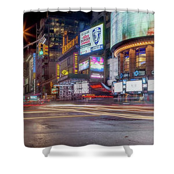 Nights On Broadway Shower Curtain