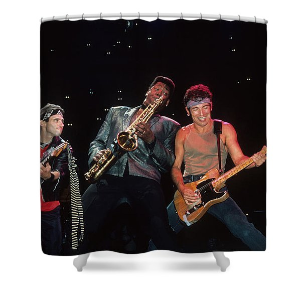 Nils Clarence And Bruce Shower Curtain