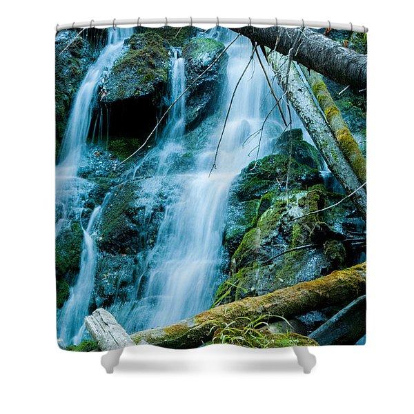 Nine Mile Falls Shower Curtain