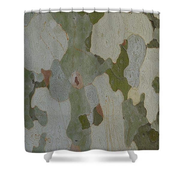 No Camouflage Shower Curtain